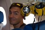 Frank and Oxygen masks