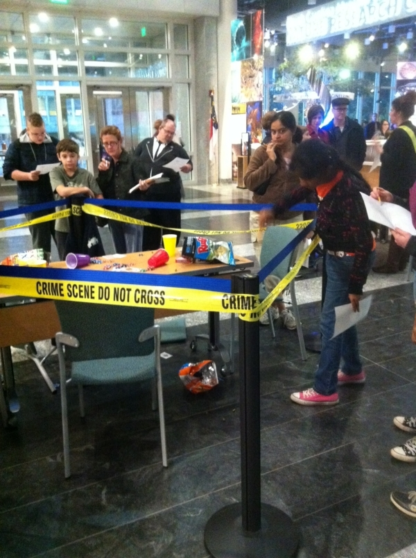 crime scene analysts