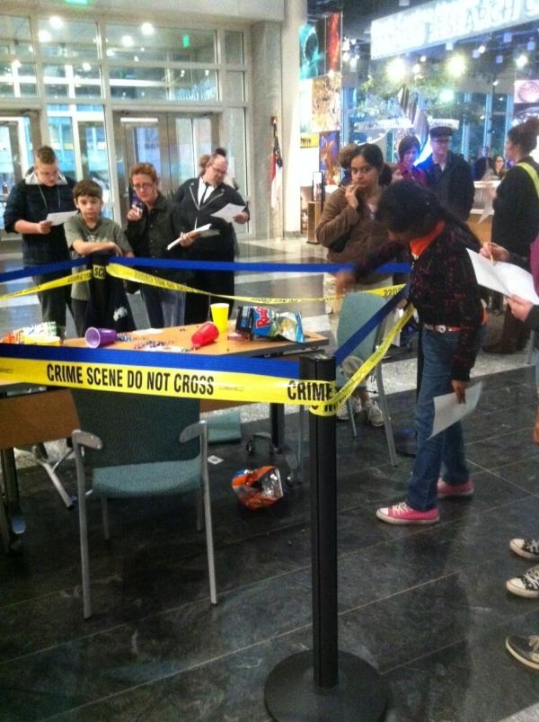 crime scene analysts