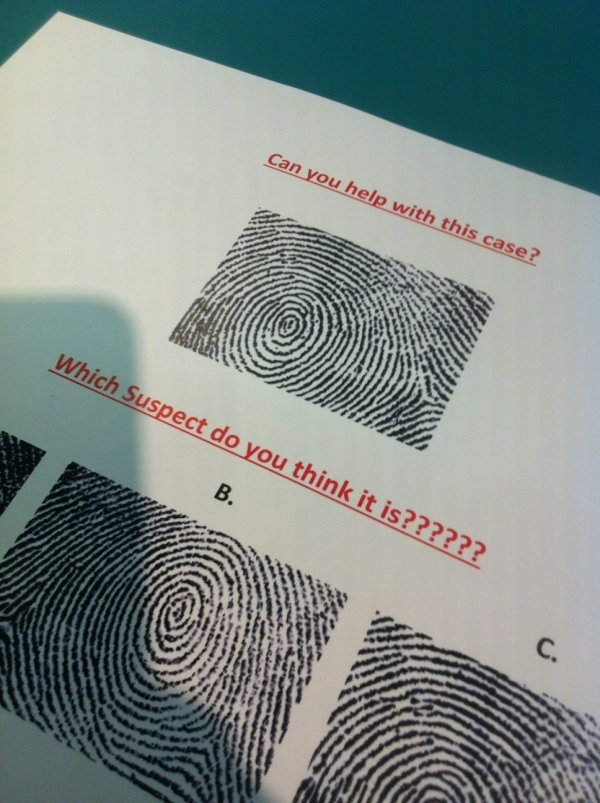 Fingerprint samples