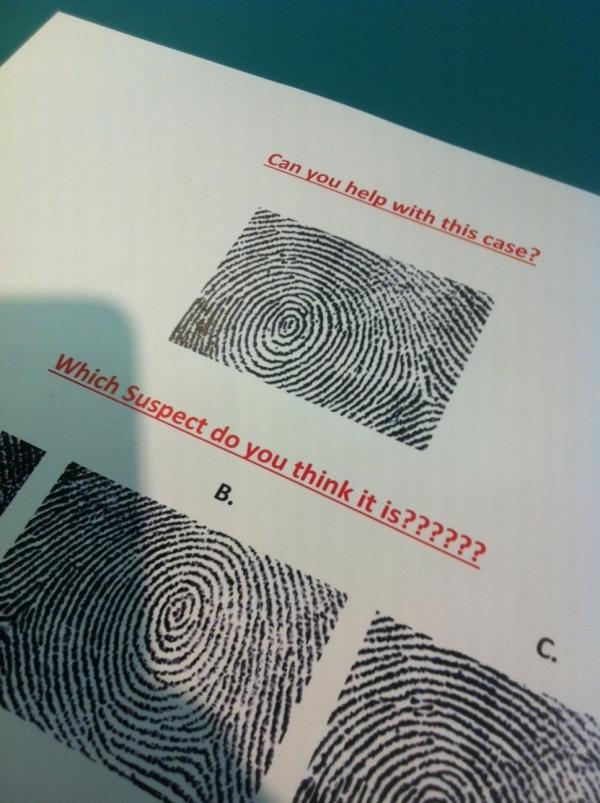 Fingerprint samples