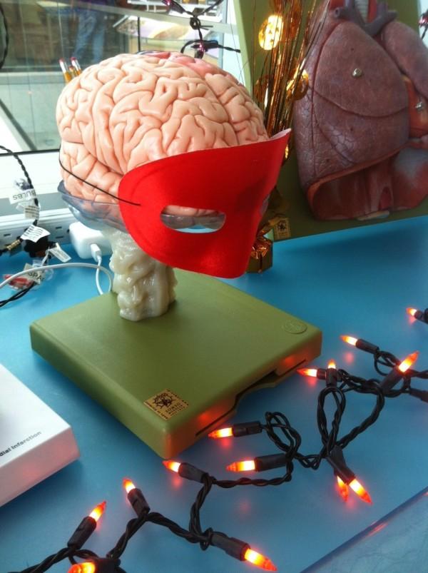 Hallween lab brain