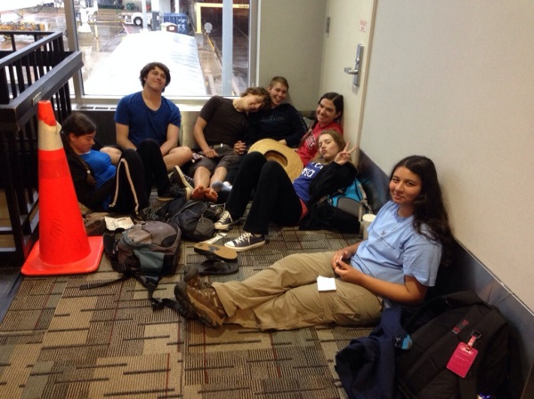 A pile of JCs at the Minneapolis airport!