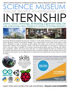 vislab internship poster