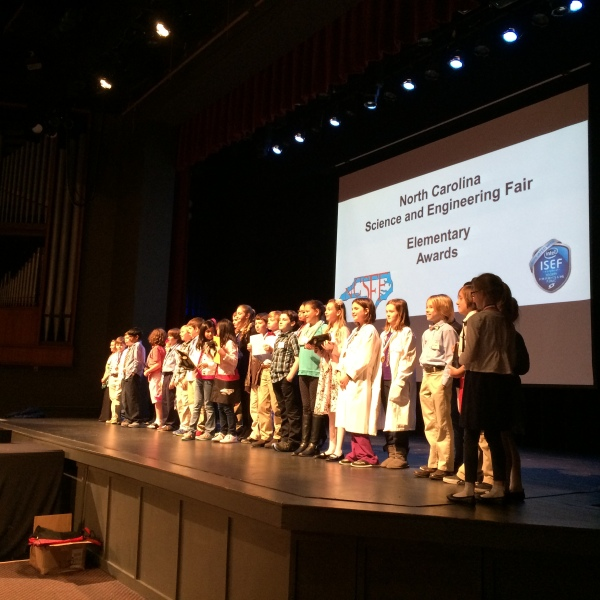 2015 NC Science and Engineering Fair Elementary Award Winners